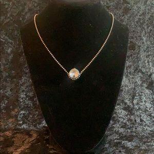 Sabika American Beauty 1 Stone Necklace Winter 14'